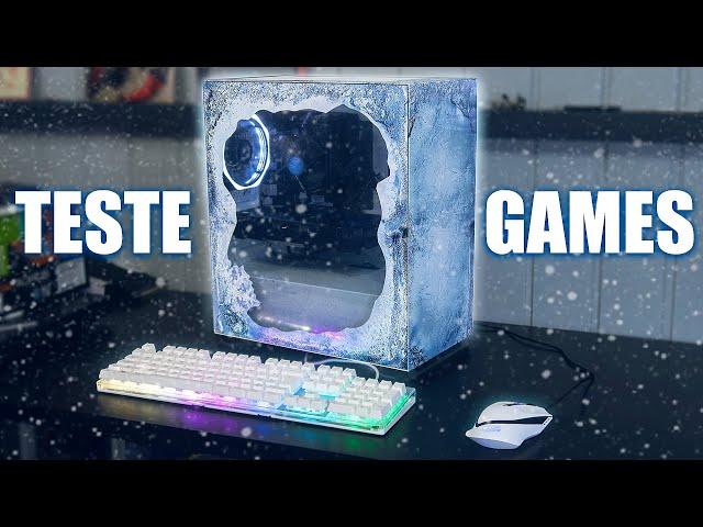 O PC GAMER DE GELO SE DEU BEM NOS GAMES? EP.5