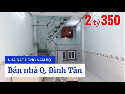 Video nhà bán quận Bình Tân dưới 3 tỷ, hẻm 344 Chiến Lược, Bình Trị Đông A. Hẻm 4m thông Hương lộ 2, Đất Mới, SHR