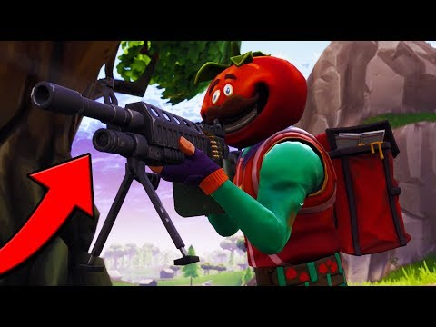 TRYING OUT THE NEW LMG LIGHT MACHINE GUN (50 VS 50) - FORTNITE BATTLE ROYALE