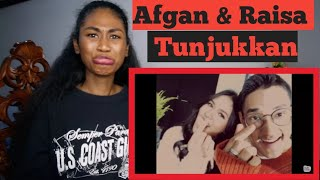 Afgan & Raisa - Tunjukkan   Official Music Video   Reaction