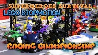 Lego мультик Супергеройские гонки на выживание! / Lego Superheros Racing Survival stopmotion(МУЗЫКА для ваших видео, игр и всего прочего на заказ! Обращайтесь к Алексею Стекачеву! Лучшие рекомендации..., 2016-05-27T07:17:47.000Z)