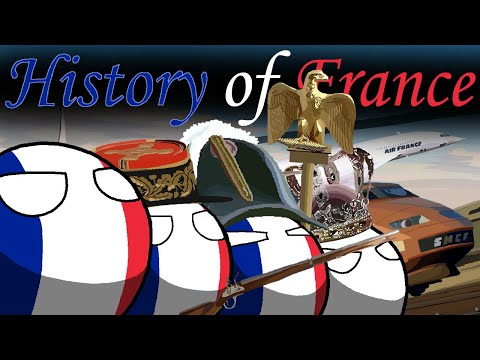 The Modern History Of France In Countryballs