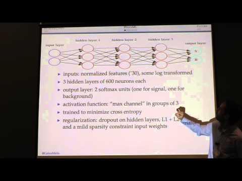 NIPS 2014 Workshop - (Melis) High-energy particle physics, machine learning, and the HiggsML...