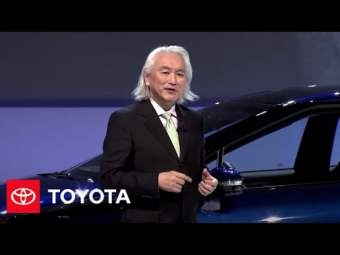 Dr. Michio Kaku on Hydrogen Future – 2015 Consumer Electronics Show | Toyota