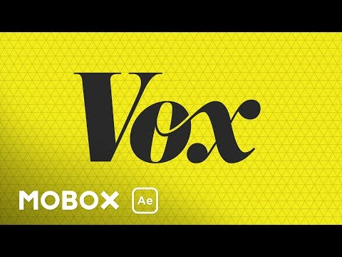Vox Media Animated Logo Tutorial - T046
