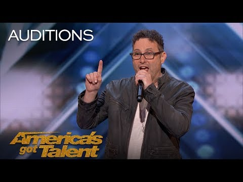 Dr. Steve: Musical Oncologist Brings Mom To His Audition - America's Got Talent 2018