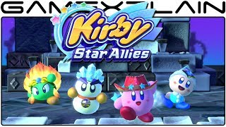 Kirby Star Allies - Freezing Over a Big Boss!