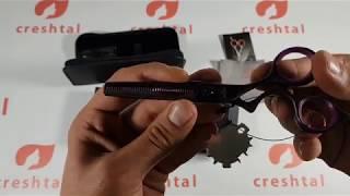 Обзор парикмахерских ножниц Tayo для филировки D37055
