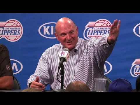 NBA: Ballmer aux commandes des Los Angeles Clippers