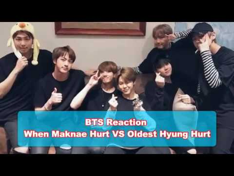 BTS Reaction When Maknae Hurt VS Oldest Hyung Hurt