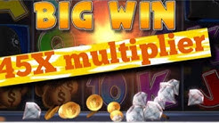 BIG WIN on Cop the Lot video slot Bonus Round