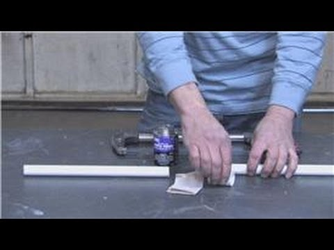 Home Improvement & Remodeling : How to Fix PVC Water Pipes