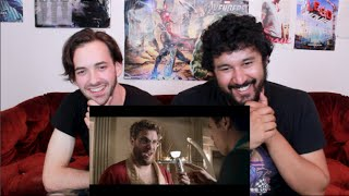The interview red band trailer reaction!!!