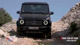 Test în off-road: Mercedes-Benz G 500