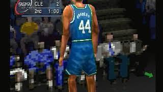 NBA Shootout 2000 PS1: Mavericks VS. Cavalivers