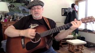 1775 -  Branded Man -  Merle Haggard vocal & acoustic guitar cover with chords