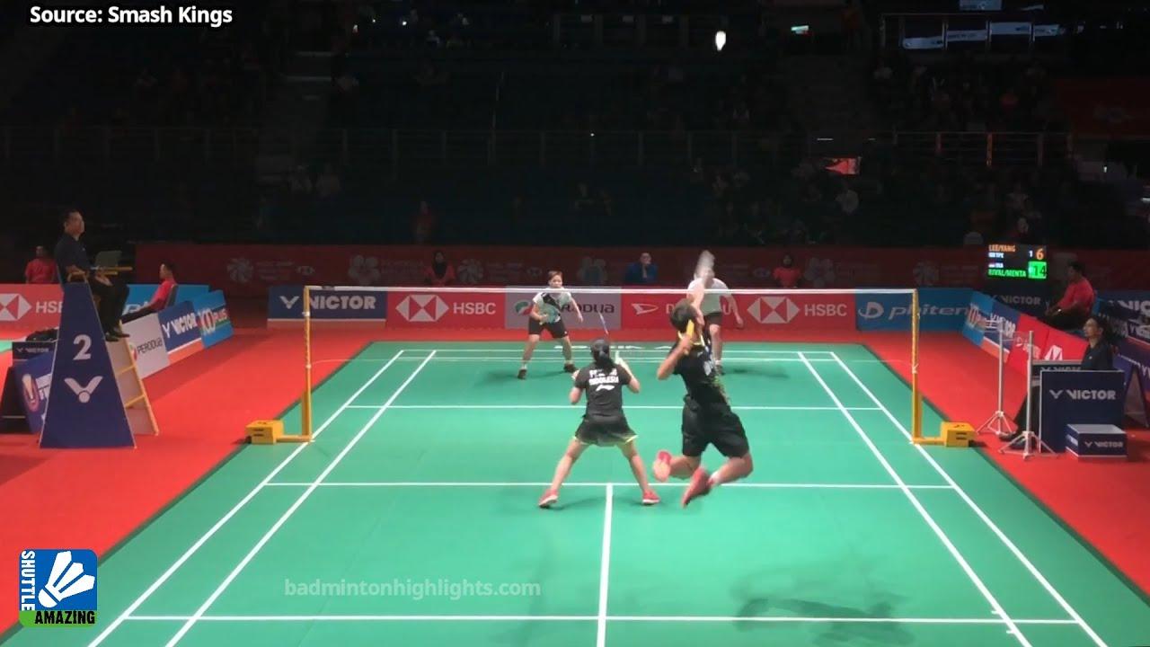 Olympic Champion is good in Mixed Double? Lee Yang/ Yang Ching Tun vs Rinov Rivaldy/ Pitha Mentari