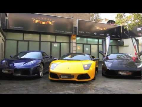 Iran Supercars 2012 and Bugatti in Iran