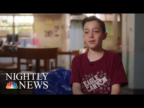 4th Grader Gives Moving Classroom Speech About His Experience With Autism | NBC Nightly News