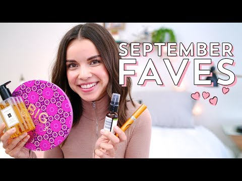 September Favorites 2017! | Ingrid Nilsen