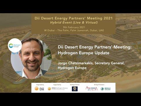 Dii Desert Energy Partners' Meeting: Jorgo Chatzimarkakis, Secretary General, Hydrogen Europe