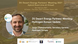 Dii Desert Energy Partners' Meeting: Jorgo Chatzimarkakis, Secretary General, Hydrogen Europe