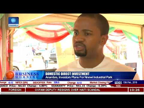 Priotising Funding For Nnewi, Onitsha, Awka Clusters |Business Morning|