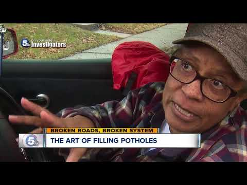 News 5 video shows questionable pothole filling despite assurances from the City of Cleveland
