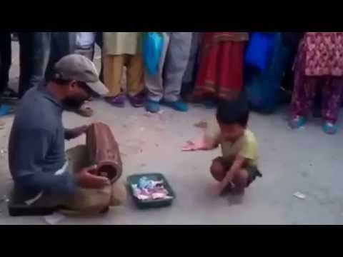 This street Kid In Nepal Can Dance