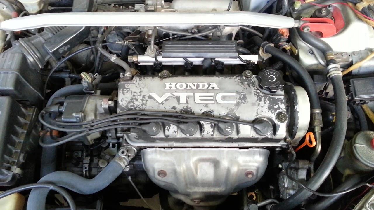 My Old 1996 Honda Civic EK Single Cam(VTEC) Engine.