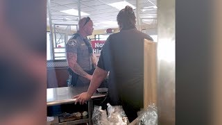 Officer Buys Homeless Man Food After Someone Calls Police on Him