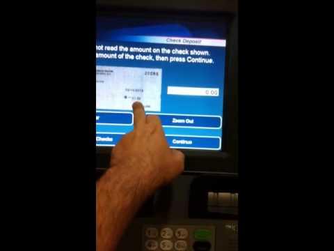 can you deposit cash at suntrust atm