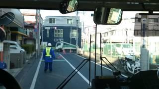 関東バス 荻20 立教女学院→西荻窪駅 前面展望