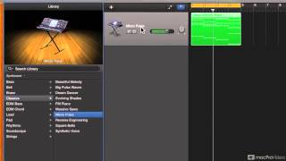 GarageBand 301: Make EDM - 3. Designing the Chord Synth Sound