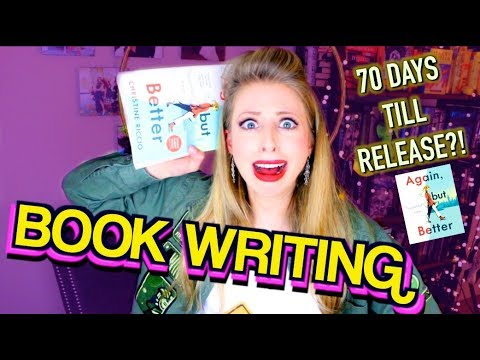 My Book Comes Out in 70 DAYS?!  | BOOK WRITING EP 40