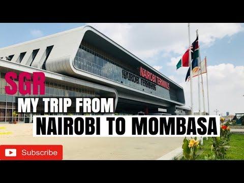 SGR TRAIN FROM NAIROBI TO MOMBASA - 2018 REVIEW | Sassy Funke