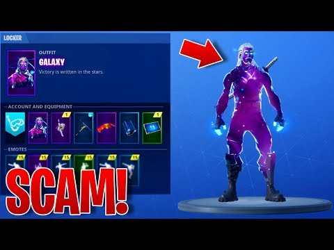 The Fortnite GALAXY SKIN IS A SCAM? - How To UNLOCK The GALAXY SKIN in Fortnite Battle Royale!