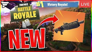V-BUCKS GIVEAWAY! - NEW HEAVY SHOTGUN | Fortnite: Battle Royale (LIVE Gameplay)