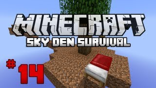 Minecraft: Sky Den Survival W/ SparxSLX - Ep14 - Book Shelves