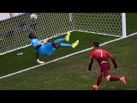 Portugal 2 - 1 Ghana : World Cup 2014