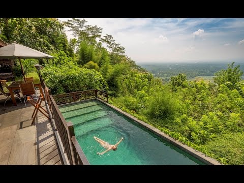 Villa Borobudur private luxury resort, hotel review (Indonesia)