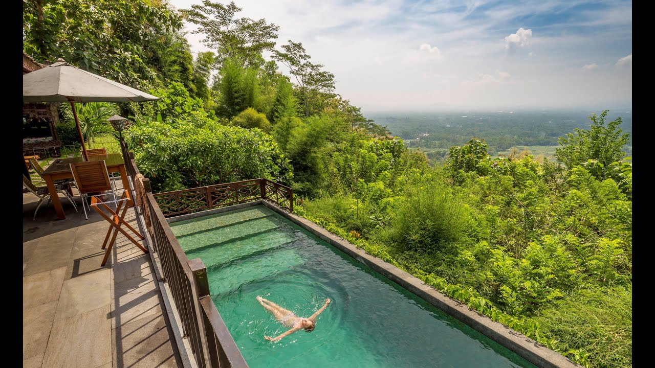 Villa Borobudur Private Luxury Resort Hotel Review Indonesia