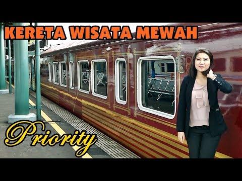 NAIK KERETA API WISATA PRIORITY JAKARTA Ke BANDUNG, First Experience
