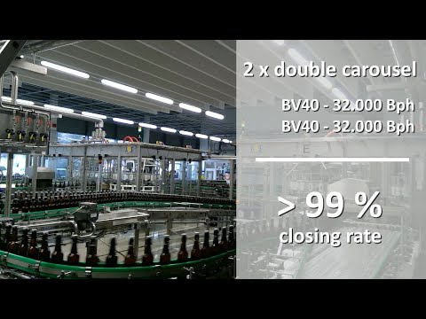 EP 002 - 2 x BV40 swing stopper closing machines