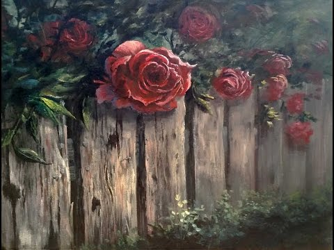 Paint with Kevin - Roses over the Fence Mp3
