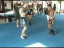 Muay Thai padwork with Kru Gae at TMT