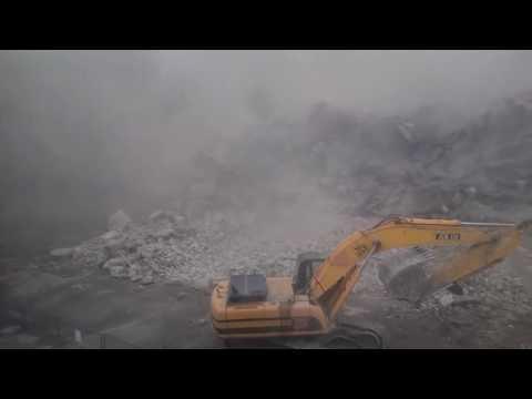 Обрушение здания на Дружинников в Воронеже