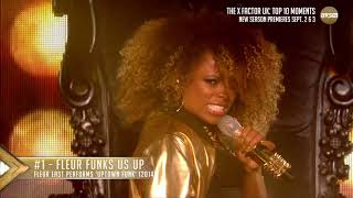 #1 Fleur Funks Us Up | The X Factor UK Top 10 Moments on AXS TV YouTube Videos