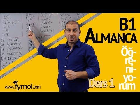 10 GÜNDE B1 ALMANCA 1.  DERS (ALMANCA ÖĞRENİYORUM)
