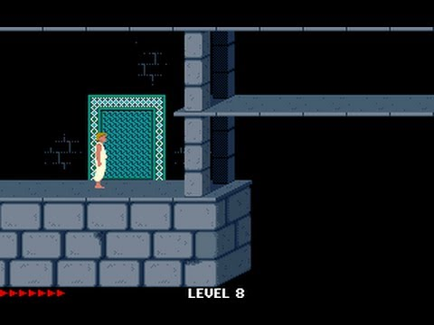 Prince of Persia 1 - Mirrored Levels (Jordan Mechner,) - Level 08